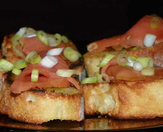 smoked salmon crostini cooking for love recipe smoked salmon crostini ...
