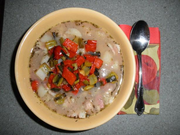 Roasted Vegetable Rhode Island Clam Chowder Recipe - Food.com