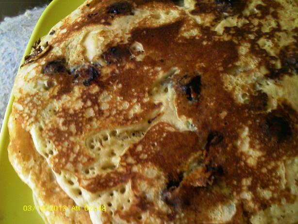 Dee's Blueberry Oatmeal Wheat Pancakes