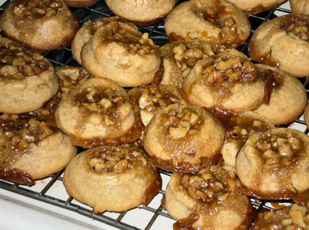 Caramel Pecan Sticky Bun Cookies Recipe - Food.com