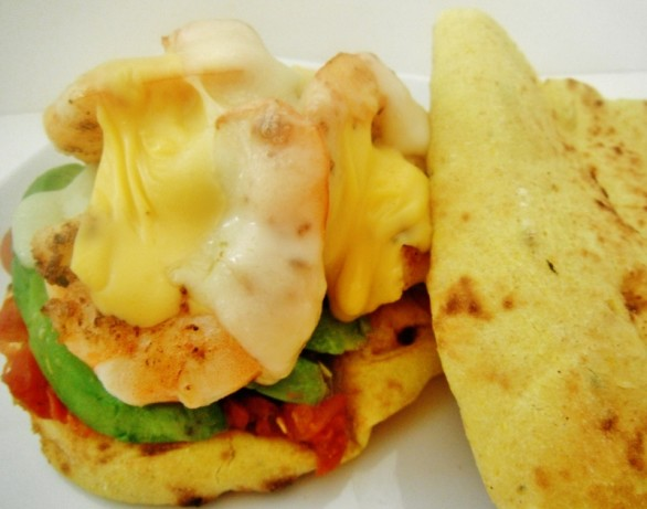 recipe: open faced shrimp melt [27]..
