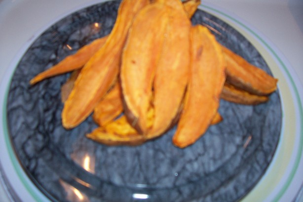 Baked Sweet Potato Sticks Recipe - Food.com