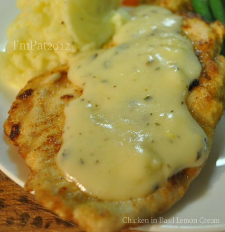 Chicken In Basil Lemon Cream Recipe - Food.com