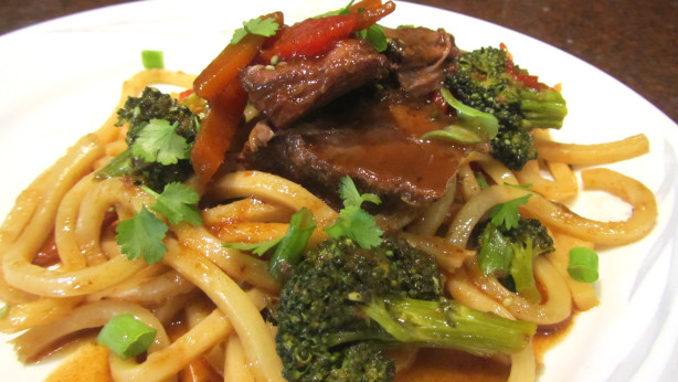 Asian Chuck Pot Roast With Veggies And Udon Noodle Recipe - Food.com