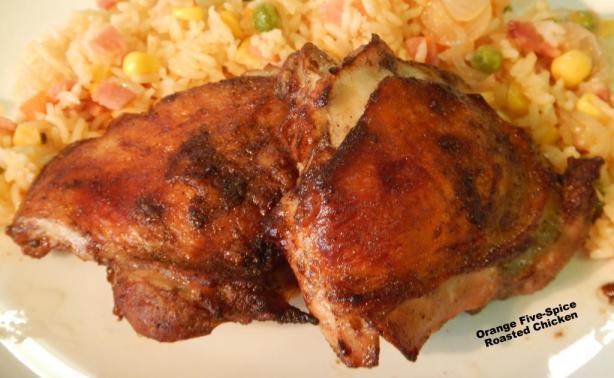 Orange Five-Spice Roasted Chicken Recipe - Food.com
