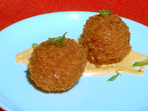 Serrano Ham And Manchego Croquetas With Smoked Pimenton Aioli Recipes ...