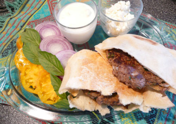 Mediterranean Lamb Burgers Recipe - Food.com