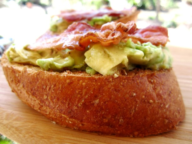 Avocado On Toast With Bacon And Maple Syrup Recipe - Food.com