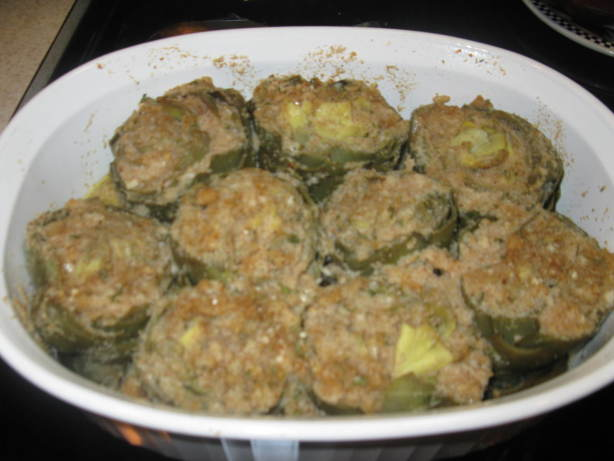 Italian Baby Stuffed Artichokes Recipe - Food.com