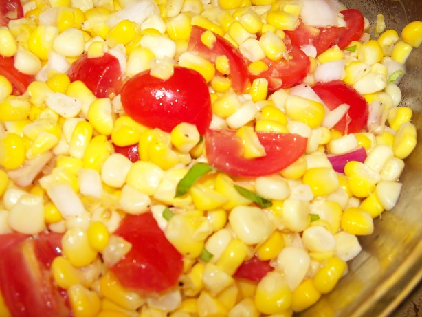 Fresh Corn And Tomato Salad Recipe - Food.com
