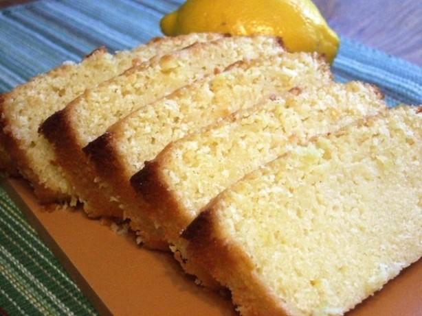 Homemade Lemon Pound Cake Made In A Loaf Pan Recipe