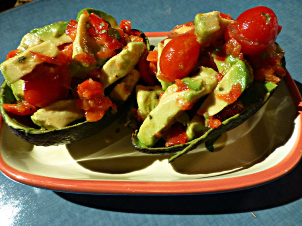 Avocado With Bell Pepper And Tomatoes Recipe - Food.com