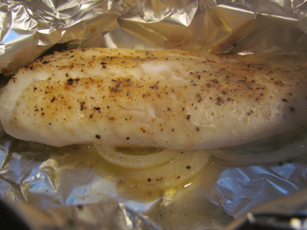 simple baked fish in foil ww recipe