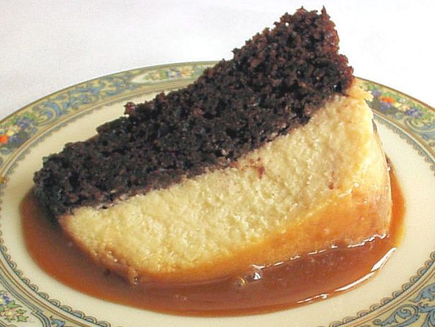 Mexican Cake Flan Chocolate