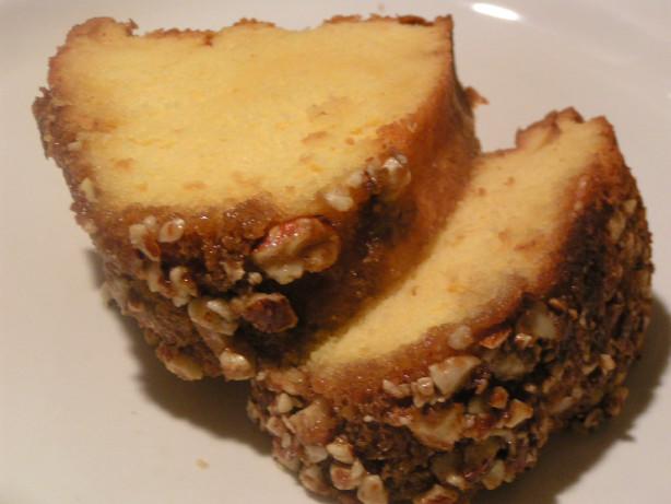 Vanilla Rum Cake Glaze