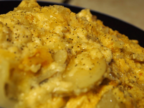 Creamy AuGratin Potatoes {Crockpot} Recipe - Food.com