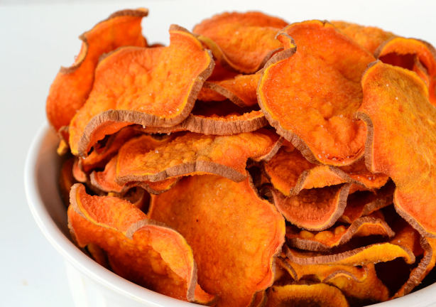 Guilt Free Sweet Potato Chips Recipe - Food.com