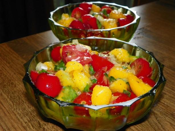Mango And Baby Tomato Salad Recipe - Food.com