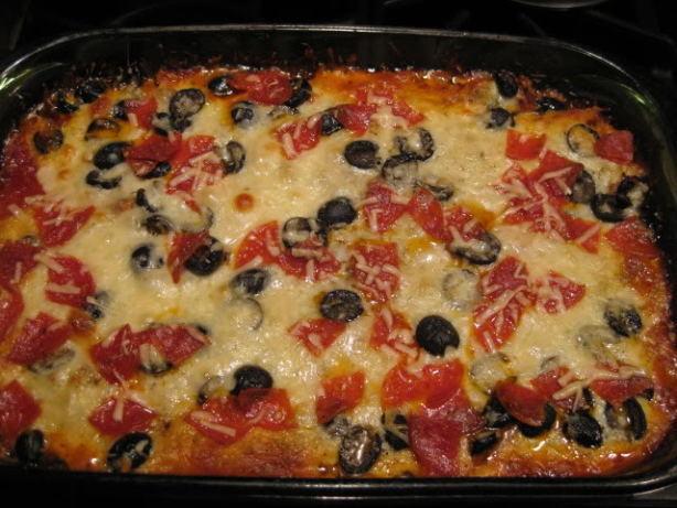 Low Carb Supreme Pizza Casserole Recipe - Food.com