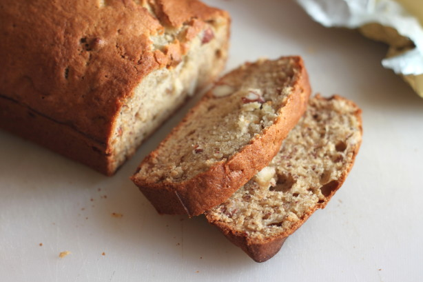 Food Recipe Moist Delicious Banana Nut Bread