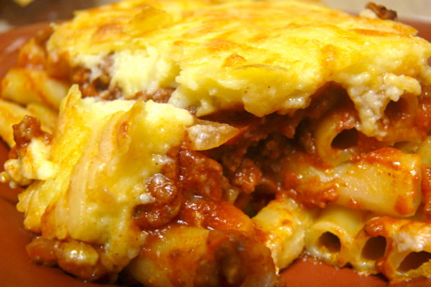 Pastitsio Greek Baked Ziti Lasagna Recipe - Food.com