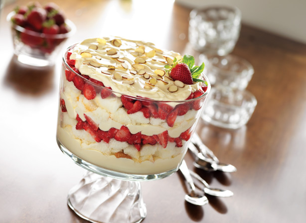 Strawberries And Cream Trifle Recipe - Food.com