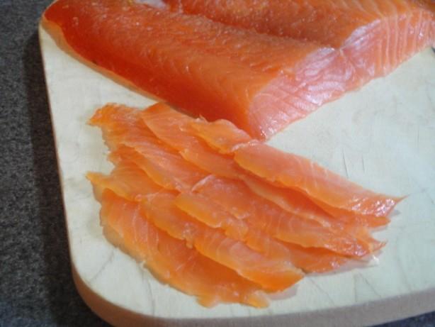 Citrus-Cured Salmon Recipe — Dishmaps