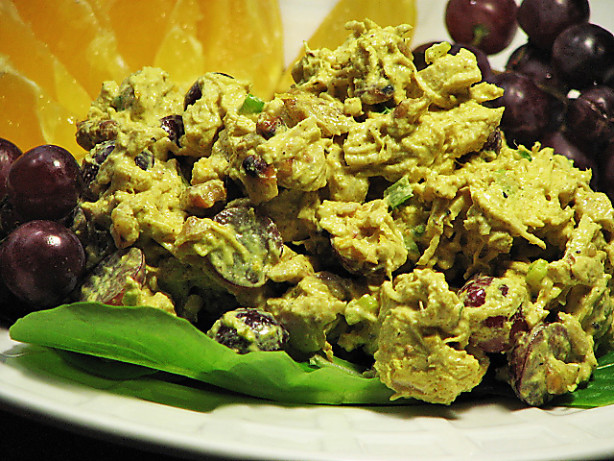 chicken salad with grapes and walnuts recipe yummly chicken salad ...