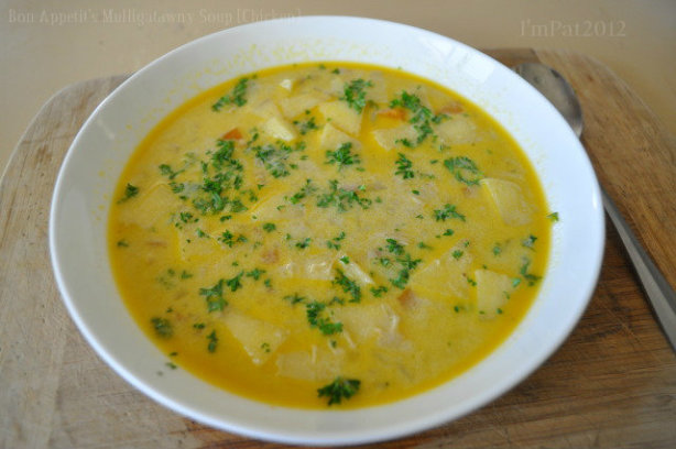 Bon Appetits Mulligatawny Soup Chicken ) Recipe - Food.com