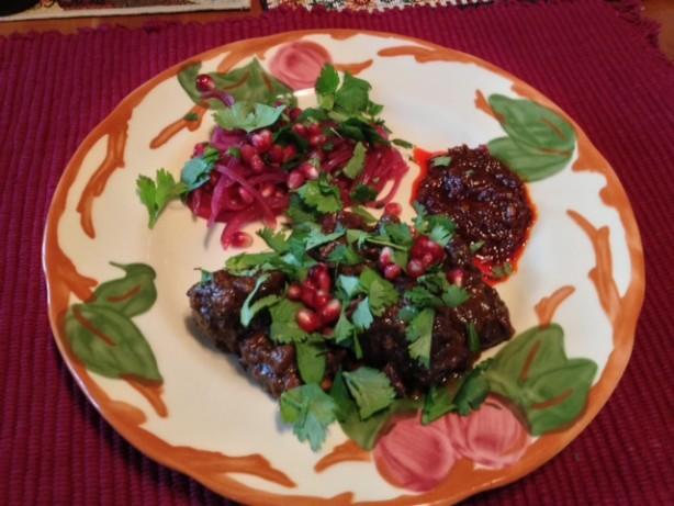 Lamb Tagine With Walnuts And Pomegranate Recipe - Food.com