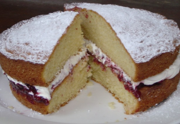 All In One Sponge Cake Recipe