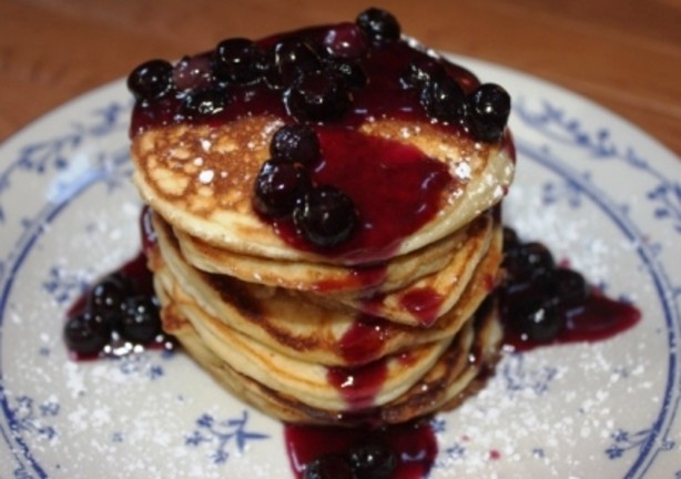 pancakes lemon ricotta pancakes with sauteed apples lemon ricotta ...