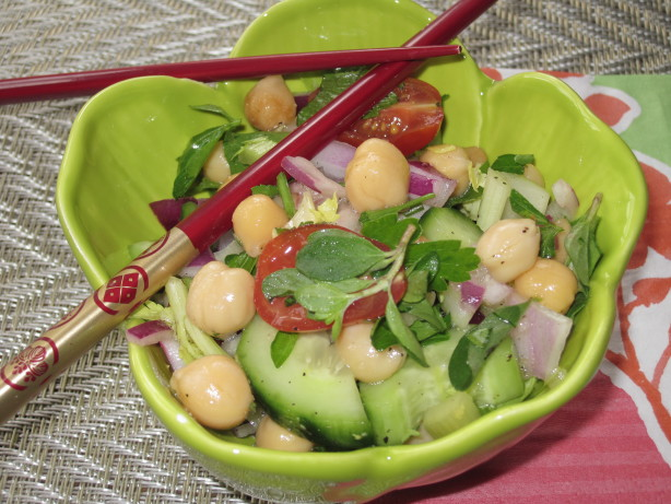 Cucumber, Herb And Pita Salad Recipes — Dishmaps