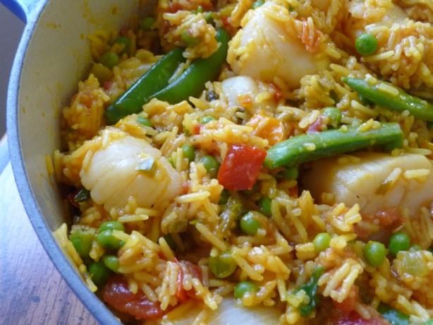 Fabulous Mediterranean-Style Scallop Paella Recipe - Food.com