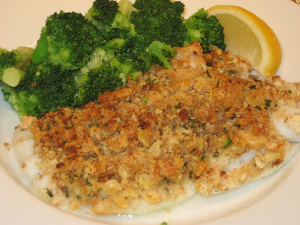 Baked Haddock With Crumb Topping Recipe - Food.com