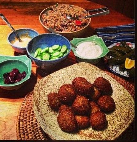 Falafel With Tahini Sauce Recipe - Food.com