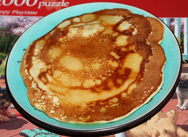 Fluffy Buttermilk Pancakes Via Recipe