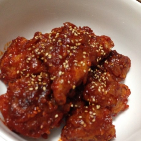Spicy Korean Fried Chicken Recipe - Food.com