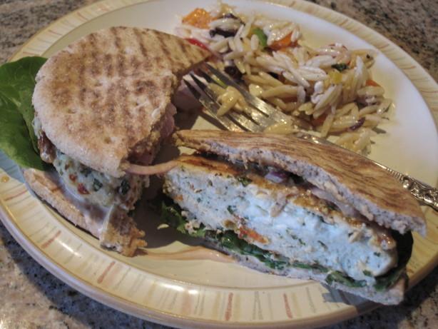 Greek Chicken Burgers With Feta Recipe - Food.com