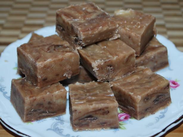 Simple Peanut Butter Chocolate Fudge Recipe - Food.com