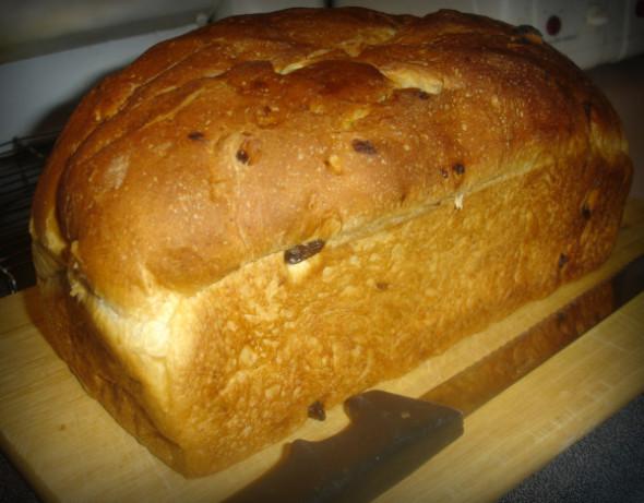 oatmeal raisin bread machine