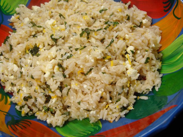 Feta And Mint Rice Recipe - Food.com