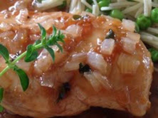 Apricot-Balsamic Skillet Chicken Recipe - Food.com