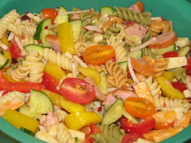 Moms Keilbasa Pasta Salad Recipe - Food.com