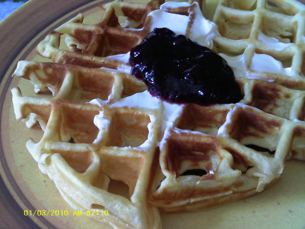 Norwegian Waffles Recipe — Dishmaps