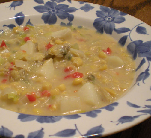 Creamy Clam Corn Chowder Recipe - Food.com