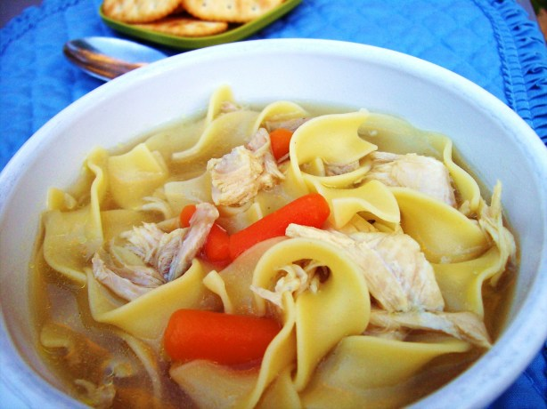 My Not-So-Quick And Easy Chicken Noodle Soup Recipe - Low-cholesterol ...