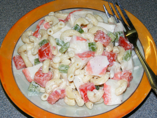 Imitation Crab And Pasta Salad Recipe - Food.com