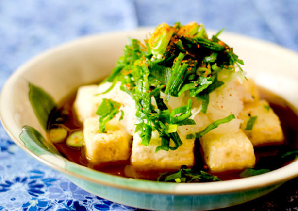 Agedashi Tofu Baked In Toaster Oven Recipe - Food.com