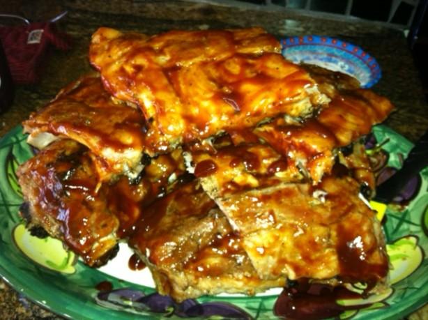 Fall Off The Bone Barbecued Baby Back Ribs Recipe - Food.com